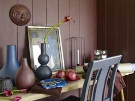 <b> METODIKK: </b> Arbeid metodisk når du maler. På panel males kun ett eller to bord av gangen. (Foto: Fargerike)