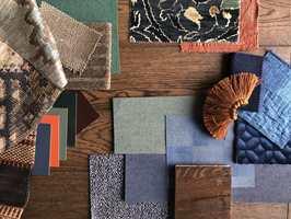 Med en materialcollage kan du forske i hvilke farger og materialer som gir deg rette godfølelsen.