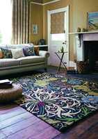 Et velkjent teppemotiv, nå i moderne og rustikke rammer.