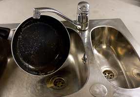 <b>FETT:</b> Når rørene tetter seg på grunn av matfett i vasken, bør du ha avløpsåpneren lett tilgjengelig.