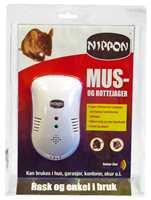 Med denne kommer en sterk sirene-lyd som bare musene og rottene hører.