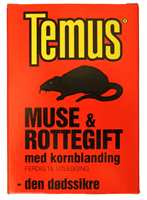Muse & rottegift tar knekken på skadedyrene.