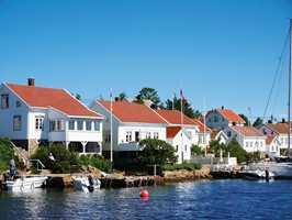 <b>HYTTEKOS:</b> Sørlandet i sus og dus. – Jeg synes hytteturistene er flinke til å stelle med landsdelen vår, sier Øivind Horverak fra Fargerike Corona i Kristiansand.
