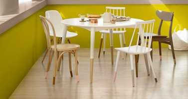 Miks og match som du vil med de forskjellige stolene.