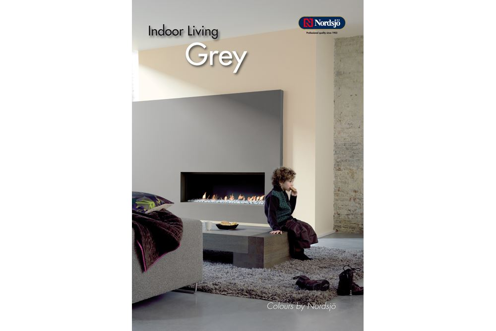Fargene i de ulike kartene er tilpasset hverandre. Det vil si at f.eks. en gråfarge i kartet Indoor Living Grey kan passe sammen med en rødfarge i Indoor Living Red & Brown.