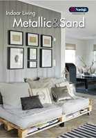 Fargedesigner Tale Henningsen har stor tro på kartet Indoor Living Metal & Sand med metall og sandfarger.