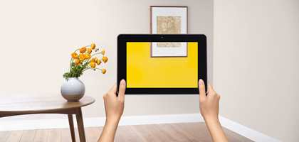 Nordsjö har en egen app, Visualizer, som gjør det mulig å se egne rom kledd i ulike farger.