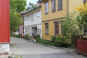 <b>VARIASJON:</b> Vi trenger fortsatt hvite og grå hus, de er med på å skape variasjon og luft mellom fargede hus.