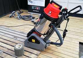 UTSTYRET: Maskinen kan leies fra faghandel og utleieselskaper.