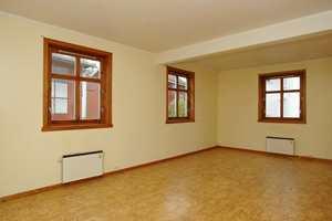 Og slik så stuen ut før.