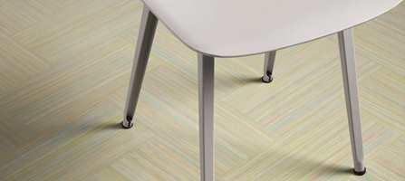 Neste generasjon av bærekraftig linoleumsgulv er klar i Forbos nye hovedkolleksjon Marmoleum.
