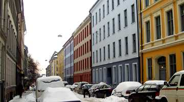 Vinter i Oslo 2006.