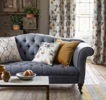 <b>INN MED TEKSTILER:</b> Ekspertene mener tidsriktige tekstiler gjør rommet mer spennende. (Foto: INTAG)