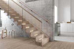 I dag er trappen som et møbel, kanskje boligens mest synlige. Denne heter Osaka, lages i Stryn og leveres av Hagen AS.