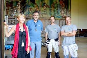 Spesialkonsulent i Oslo kommune, Sigrun Myrmellem og malermester Arnulf Olsen og co.