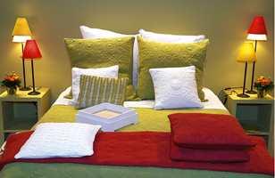 En syrliggrønn farge er gjenganger i trenden med rene, kraftige farger.