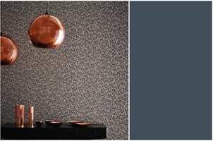 <b>MULIGHETER:</b> Lyst eller mørkt rom? Herfra kan du gå begge veier. Tapetet Anthology er fra Tapethuset.