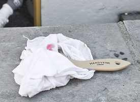 Pakk inn penselen i en våt fille, hvis det vil gå noen minutter før den brukes igjen. Foto: Chera Westman/ifi.no