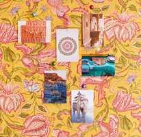 <b>KRYDDER:</b> Her er hele paletten i et nytt tapet fra Eijffinger/Storeys, inspirert av Østens krydder. Her er det bare å fleske til og krydre interiøret ditt.