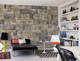 Motiver å velge i er blant annet marmor, bambusvegg, slitte planker, mursteinsmotiv og en steinvegg.