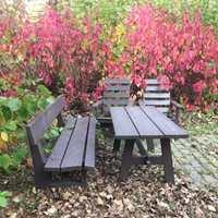 <b>HØST:</b> Når høsten kommer, er det på tide å vaske og pleie møblene, og sette de bort for sesongen.