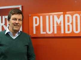 <b>PLUMBOSJEFEN:</b> Christian Krefting er mannen som har gjort Plumbo til et av landets sterkeste merkenavn. – Det er fordi produktet virker, sier han. (Foto: Robert Walmann/ifi.no)