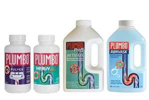 <b>FIKSER JOBBEN:</b> Det finnes mange varianter av Plumbo, som er egnet til hvert sitt bruk. (Foto: Krefting)