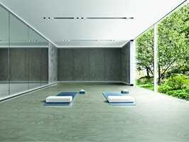 Økologi, estetikk og kvalitet er stikkord for det nye, organiske gulvet fra Polyflor.