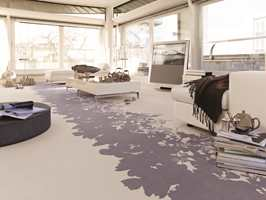 Et elegant teppe fra Vorwerk, føres kun av Polyflor i Norge. Dette er Personal Treasure