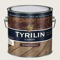 Tyrilin Terrassebeis kommer i 12 farger