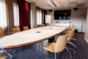 I konferanseavdelingen finner vi en rekke elegante møterom med nødvendige fasiliteter.