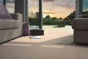 Teppet Pure Deco i 100% polypropylen kan brukes både ute og inne. Det lagerføres av Musum i Trondheim.