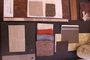 Raffinert natur: materialene har struktur, men er finere og av høyere kvalitet.