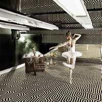 Geometrisk mønster er veldig
