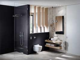 <b>PÅ VEGGEN:</b> Vegghengt toalett åpner for enklere rengjøring av gulvet og av selve toalettet. Det samme gjør porselen i god kvalitet, der smuss ikke samler seg så lett.