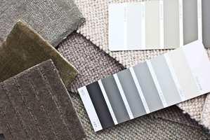 <b>FØRST:</b> Finn teppe i den kvaliteten du liker først, etterpå er det enkelt å finne veggfarge som matcher.