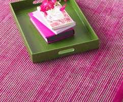<b>WOW:</b> Skal teppet ha høy wow-faktor, lønner det seg å bestemme fargen på det først.
