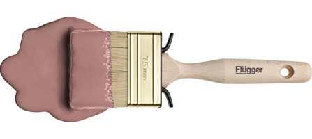 Flüggers farge 3405 er kalt Pudderrosa, og tippes å bli en stor trendfarge i 2012, og årets versjon av julerødt ifølge malingleverandøren.