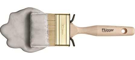 Krystallgrå, Flügger 4442, minner om sølv og vil fungere fint som basisfarge denne julen.