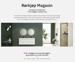 STOR INTERESSE: Mange har allerede funnet veien til Rørkjøps nye inspirasjonsmagasin. På nettsidene til rørleggerkjeden bygges det sakte, men sikkert opp både kunnskap og inspirasjon i form av tekster og bilder.