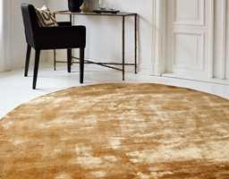<b>MYE ROM:</b> Runde tepper myker opp rommet og jevner ut skjeve vinker.