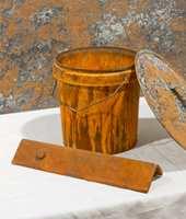 Malinger med metalleffekt inneholder ekte metallfragmenter.