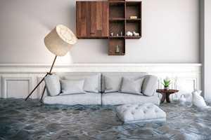 VARSLER FARE: Heldigvis finnes det smarte systemer som varsler før vannet tar over kontrollen i huset ditt.