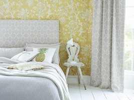 <b>STØRRE:</b> Store mønster kan fint brukes i små rom. (Foto: INTAG)