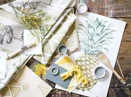 <b>HUMØR:</b> En liten dasj med gult er nok til å dra opp humøret. (Foto: INTAG)