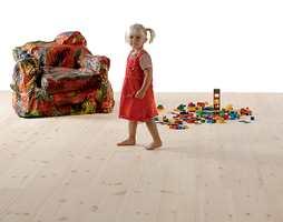 <b>SANSELIG:</b> Det gode gulvet kjennes godt for føttene, for øynene og ørene. (Foto: Skattekammeret)