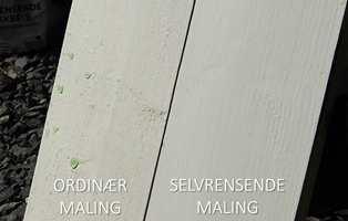 SELVRENSENDE MALING VS ORDINÆR MALING