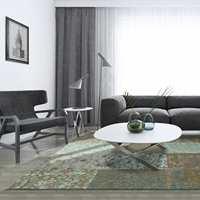 <b>SILKEMYKT:</b> Gulvtepper gir varme og mykhet i rommet. Teppe fra Vintage-kolleksjonen til Teppeabo.