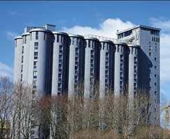 Grünerløkka Studenthus. <br/><a href='https://www.ifi.no//urbane-kornsiloer'>Klikk her for å åpne artikkelen: Urbane kornsiloer</a>