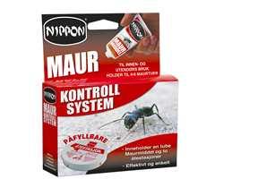 Alle maurprodukter er det gift i. Men det settes stadig nye krav til hvor mye gift som kan være i produktene.